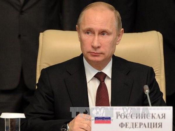 Tổng thống Nga Putin sẽ thăm Việt Nam vào ngày 12/11
