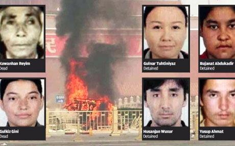 Trung Quốc chỉ danh nhóm đứng sau vụ tấn công Thiên An Môn