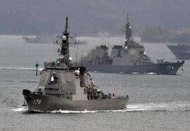 Nhật tăng cường hạm đội tàu khu trục đối phó với Trung Quốc