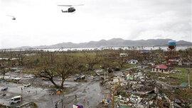 Hơn 1.200 người Philippines thiệt mạng vì siêu bão Haiyan