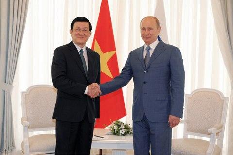 Tổng thống Putin chia sẻ về tương lai quan hệ Việt-Nga