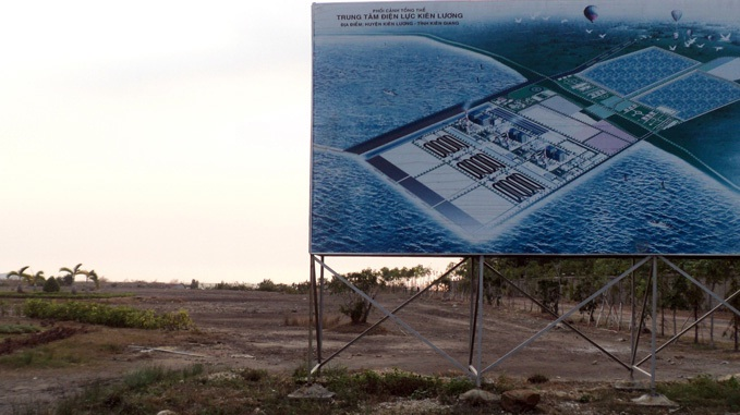 Kiên Giang lại xem xét thu hồi dự án nhiệt điện Kiên Lương