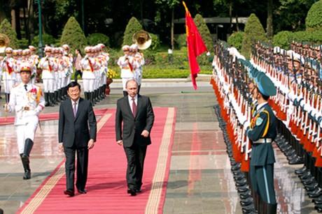 Việt Nam - Nga ra tuyên bố chung quan trọng