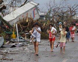 Tổng thống Philippines: Số người chết do bão Haiyan khoảng 2.500 người