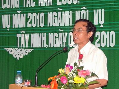 Đề nghị bổ nhiệm ông Nguyễn Văn Nên làm Chủ nhiệm Văn phòng Chính phủ