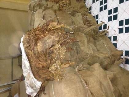 Lộ tẩy đường dây buôn lậu lớn từ 36 tấn lá thuốc lá Trung Quốc