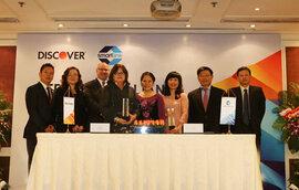 Chủ thẻ Discover toàn cầu có thể giao dịch tại hơn 16.000 ATM của Việt Nam
