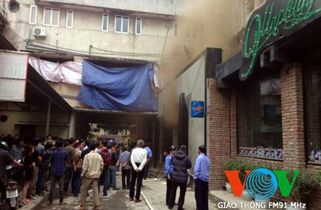 Hà Nội: Cháy tại khu Zone 9 làm 6 người tử vong