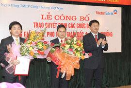 Ông Võ Minh Tuấn thôi giữ chức Phó Tổng giám đốc VietinBank không rõ lý do