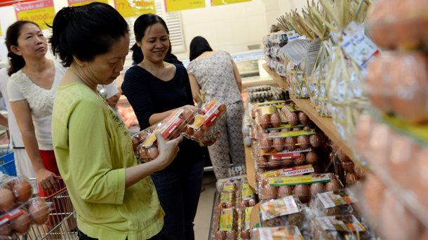 TP. HCM: Giá trứng gia cầm có xu hướng giảm