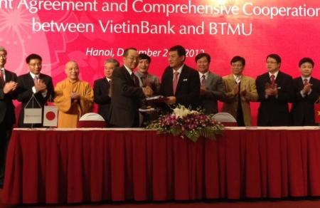 Nhật lặng lẽ mua cổ phần ngân hàng Việt