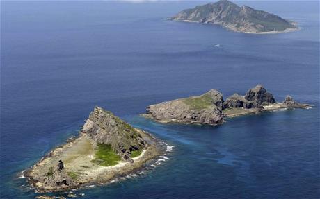 Quần đảo tranh chấp Senkaku/Điếu Ngư.