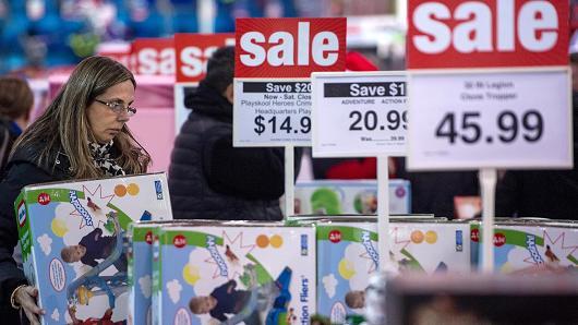 Chùm ảnh: Người Mỹ cuồng mua sắm trong Black Friday