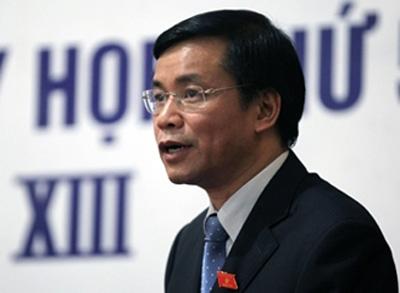 Chủ nhiệm Văn phòng Quốc hội Nguyễn Hạnh Phúc.