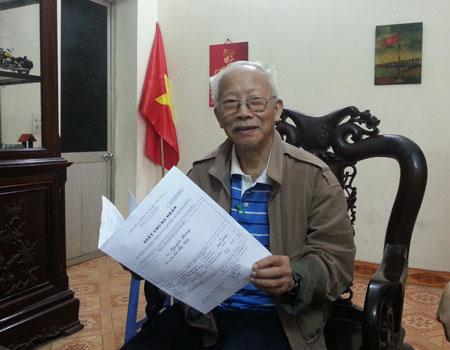Ông Nguyễn Hoàng -Thương binh, cán bộ tiền Khởi nghĩa khẩn thiết đề nghị