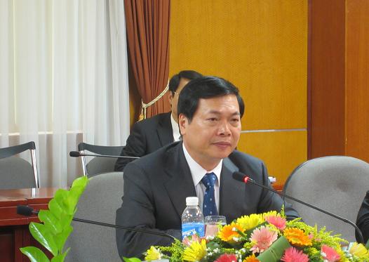 Bộ trưởng Vũ Huy Hoàng cảnh báo lục đục nội bộ tại Tập đoàn, Tổng công ty Nhà nước