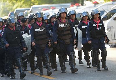 Thái Lan căng thẳng, Thủ tướng Yingluck rời đến địa điểm bí mật