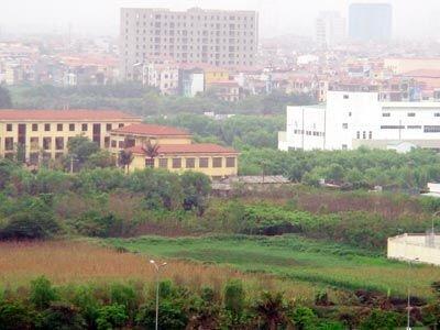 Đơn giá thuê đất tại Hà Nội sẽ tăng cao vào năm 2014