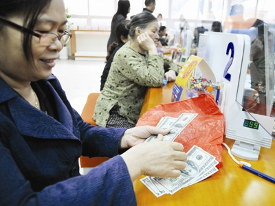 Tỷ giá VND/USD tăng mạnh nhất trong hơn 3 tháng qua
