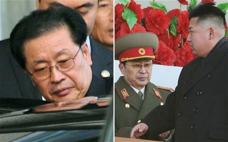 Ông Jang Song-Thaek là người chú quyền lực của nhà lãnh đạo Kim Jong-un.