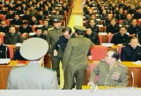 Chú ông Kim Jong-un bị bắt ngay tại phiên họp