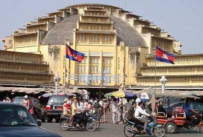 Hàng Việt lấn át hàng Thái và Trung Quốc trên thị trường Campuchia