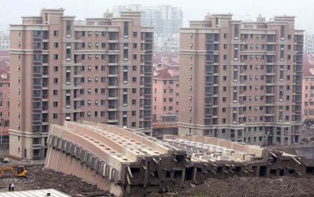 Bong bóng nhà đất Trung Quốc khi vỡ sẽ gây tổn thất khó lường