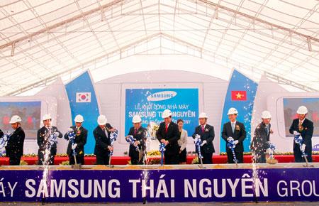 Thái Nguyên quán quân hút vốn FDI nhờ 2 dự án