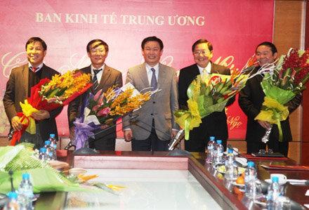 Bộ Chính trị bổ nhiệm 5 Phó Trưởng Ban Kinh tế Trung ương