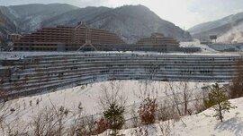 Triều Tiên chính thức khai trương khu trượt tuyết xa xỉ