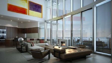 Các căn hộ đều rất rộng với tầm nhìn ra biển