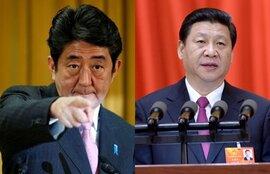 Shinzo Abe đối đầu Tập Cận Bình