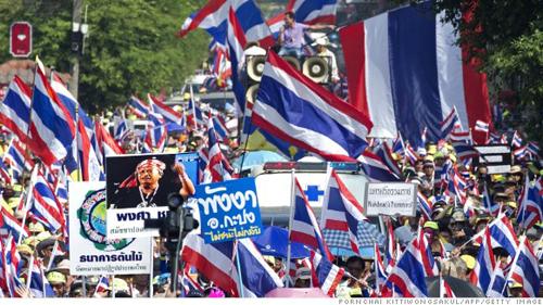 Quân đội Thái Lan bác bỏ tin đồn đảo chính