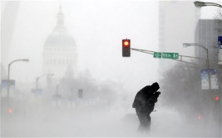 Nước Mỹ chìm trong thời tiết giá rét nhất 20 năm
