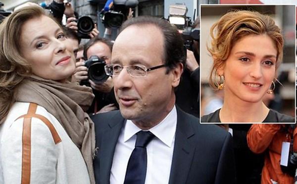 Uy tín Tổng thống Pháp tăng bất chấp bê bối tình ái