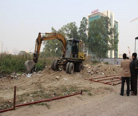 Từ Liêm cưỡng chế thu hồi thành công 7.500 m2 đất