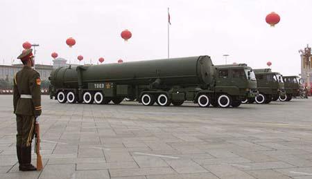 Các tên lửa DF-31 của Trung Quốc