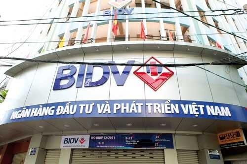 Cổ phiếu BIDV mất điểm trong sáng đầu tiên chào sàn