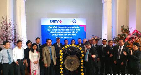 Chủ tịch BIDV nói về thời điểm cổ phiếu BID chào sàn