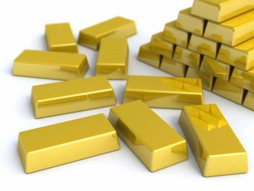 Giá vàng giảm từ mốc cao nhất 10 tuần