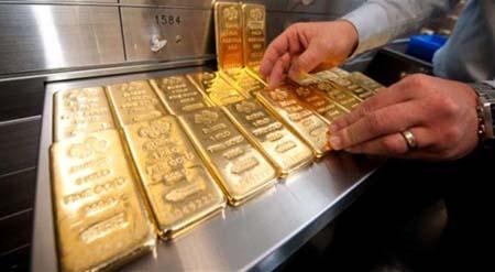 Giá vàng giảm mạnh nhất 5 tuần