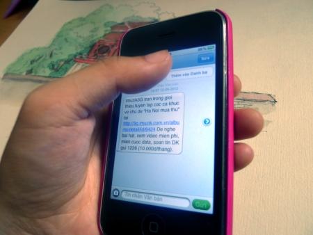 Doanh nghiệp phải cung cấp giá, cước khi quảng cáo qua SMS