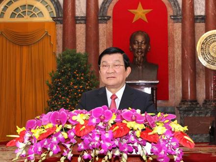 Thư chúc Tết Giáp Ngọ của Chủ tịch nước Trương Tấn Sang