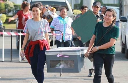Bầu cử tại Thái Lan đã kết thúc một cách khá yên bình