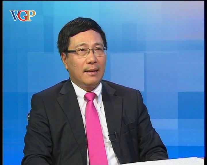 Phó Thủ tướng Phạm Bình Minh: Kiên quyết bảo vệ chủ quyền biển đảo