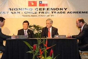 Chile đánh giá cao hiệp định thương mại tự do với Việt Nam