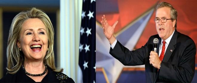 Hai gia đình Bush và Clinton có thể lại quyết đấu