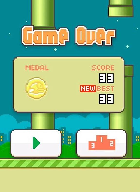 Flappy Bird là một trò chơi khá thú vị, đơn giản.