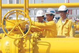 Đại gia ngành khí gặt lãi đậm, cổ phiếu PV GAS tăng giá mạnh trên sàn
