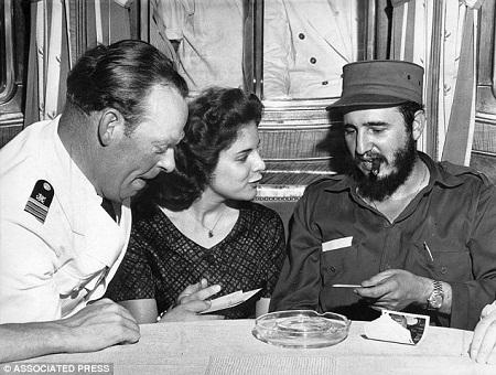Chuyện tình kỳ lạ của chủ tịch Cuba Fidel Castro